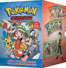 POKEMON ADVENTURES VOL 3 BOX SET RUBY & SAPHIRE Collects Vol 15-22 Viz MANGA TPB