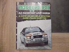 Revue Echappement n° 148 - Audi Quattro de Michèle Mouton