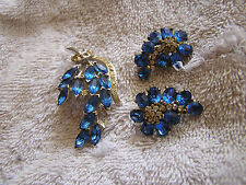 Vintage Coro Craft Pin and Earrings