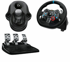 LOGITECH Driving PC PS4 G29 Wheel + Pedals + Gear Stick + Euro Truck simulator 2