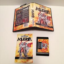 M.U.S.H.A. Musha ( Sega Genesis ) Complete *Read Description*