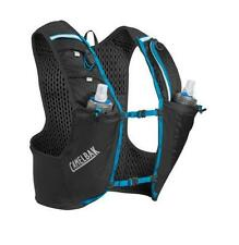 Camelbak Ultra Pro Vest 34oz Running Hydration Pack Black/Atomic Blue LARGE NEW
