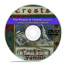 Ireland Vol 2, People Cities Towns, History and Genealogy 135 Books DVD CD B41