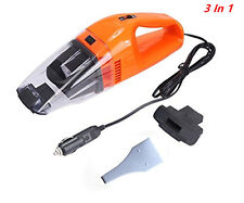 12V 120W Orange Portable Super Cyclone Handheld Vacuum Cleaner For Car/Vehicle