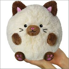 "SQUISHABLE Mini Plush Siamese Cat 7"" round stuff animal Amazingly soft"