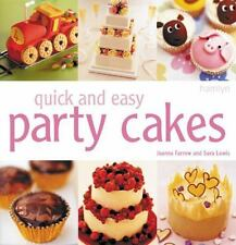 Quick and Easy Party Cakes-ExLibrary