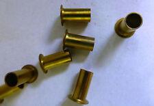 100 Stück Messing Rohrnieten A6 X 0,4 X 12