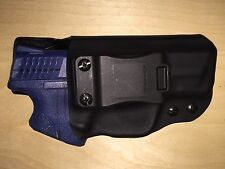 IWB Holster - S&W M&P Compact 9mm/40cal - WITH Thumb Safety - Adj Retention