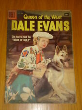 DALE EVANS QUEEN OF THE WEST #17 VG (4.0) 1957 DELL WESTERN COMIC E