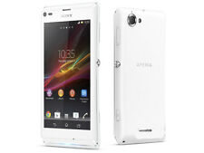 100% New Original Sony XPERIA L C2105 8GB White (Unlocked) Smartphone,8MP,GSM