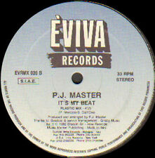 P.J. Master ‎– It's My Beat - 1992 Eviva Records ‎– EVR 020