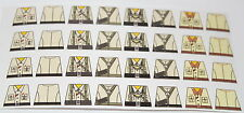 Custom 32 stickers german soldiers  WW2 GERMAN AFRICA CORPS -  SIZE - lego torso