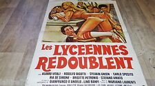 gloria guida LES LYCEENNES  !  affiche cinema vintage sexy 1977