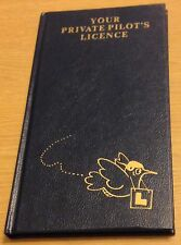 YOUR PRIVATE PILOT'S LICENCE Betty Cones Book (Hardback) 1978