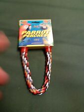 Parrot Parakeet Bird Rope Bendable Perch 14""