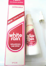 Vinatge White Rain Non-Aerosol Hair Spray W/Pump