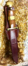 Vintage Early 1900's Hubertus Bowie Knife Beautiful Mint Condition Full Blade!!!