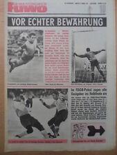 FUWO 10-9.3. 1971 * Pokal VF Jena-Lok 2:1 BFC-HFC 2:0 Dresden-Schwarze Pumpe 2:0