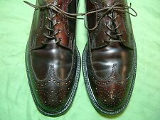 Men's Dress Shoes FLORSHEIM IMPERIAL Oxford SZ 8.5 D SHELL CORDOVAN V CLEAT 1267