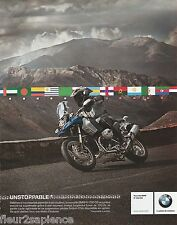 Publicité de presse Moto BMW R 1200 GS French press Ad 2008