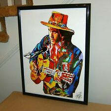 John Mayer, Gultar Player, Guitarist, Blues Rock Singer, Acoustic POSTER w/COA2