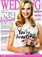 WEDDING Magazine June/July 2013 + 125 Wedding Cake & Flower Ideas Supplement NEW