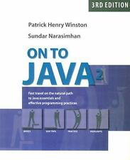 NEW - On to Java (3rd Edition)