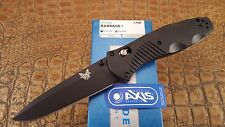 BENCHMADE KNIFE 580BK BARRAGE 154CM Drop-Point Folder blade AXIS Assisted edc