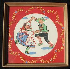 Vintage Litho SWISS DANCERS Children's Art Josephine FINI Rudiger Littlejohn