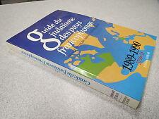 GUIDE DU JUDAISME DES PAYS FRANCOPHONES 1989-1990 EDITIONS ZOHAR