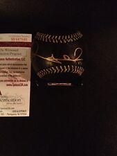 Rubby De La Rosa Signed Autographed Rawlings OML Black baseball! Red Sox! JSA!