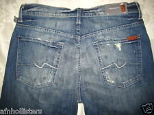 7 for All Mankind Austyn Relaxed Straight Leg Jeans 3x34 NWT STPN ATA046525 $178
