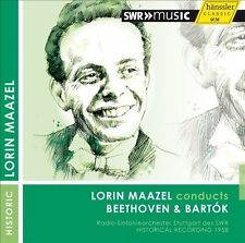 BRAND NEW, UNOPENED Lorin Maazel Conducts Beethoven & Bartok (CD, Sep-2013)