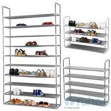 10 Schicht Schuhregal Regal Für 50 Paar Schuhe Schuhablage Schuhständer