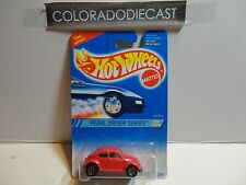 Hot Wheels #293 Pink VW Bug w/7 Spoke Wheels