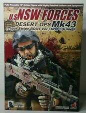 HOT TOYS 1/6 U.S. NSW FORCES DESERT OPS Mk43 (Tiger Stripe BDU Ver.)MOD 1 GUNNER