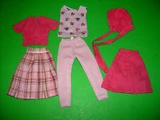 "Vintage doll clothes fit 12"" doll Judy Littlechap Tammy some homemade mix match"