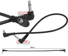 12inch 3.5mm Male to Female M-F Flash PC Sync Cord