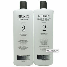 Nioxin System 2 Liter Duo Cleanser & Scalp Therapy 1 L / 33.8 Fl. Oz.