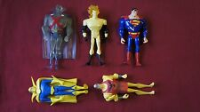Mixed Lot of 5 Justice League Unlimited DC Action Figures