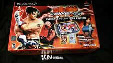 Tekken 5: Ultimate Collector's Edition (Sony PlayStation 2, 2005) BRAND-NEW