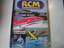 ** RCM n°217 Plan encarté Horos / Primera New Power / GY 501 Futaba