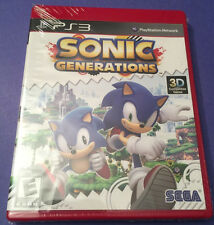 Sonic Generations PS3 PlayStation 3 Greatest Hits NEW