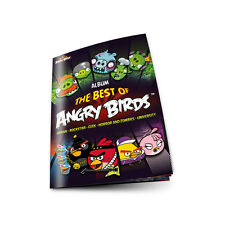 Angry Birds Sticker Album Collection - The Best Of Angry Bird Stickers - Album