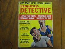 "June,  1965   ""Headquarters   Detective""   Magazine"