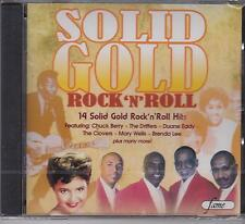 SOLID GOLD ROCK 'N' ROLL - VARIOUS ARTISTS  - CD - NEW
