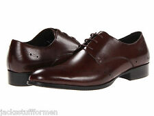 Kenneth Cole New York Suit Yourself Size 12 M Brown Leather Dress Mens Shoes