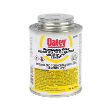 New Oatey 31911 LO-V.O.C. CPVC Flowguard Gold 1-Step Yellow Cement, 8-Ounce