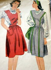 LOVELY VTG 1940s DRESS & BLOUSE Sewing Pattern 14/32