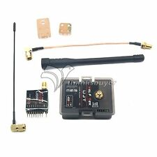 FPV Transmitter Receiver 100mW Rx & 1000mW 1W 433MHz UHF Tx for Drone Quadcopter